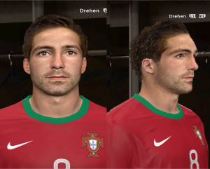 Download João Moutinho Face by rednik For PES 2014