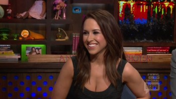LACEY CHABERT - BOOBs - Watch What Happens Live 05,29,14