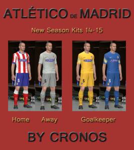 Download Atlético de Madrid 2014-2015 Kits by cRoNoS