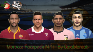 Download PES 2014 Morocco Facepack N°1 by Casablancais