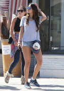 Eiza Gonzalez - Wearing Short Shorts At Kings Road Cafe in LA 5/30/14