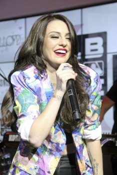 Cher Lloyd - Performance at MLB Fan Cave in New York City 05/29/2014