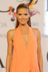 Heidi Klum - 2014 CFDA Fashion Awards in NYC 6/2/14