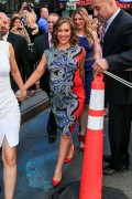 Alyssa Milano - Good Morning America TV Show in New York 02-06-2014