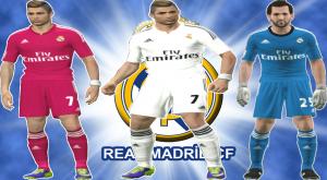 GDB Kits REAL MADRID 14-15 By Salichinko