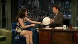Selena Gomez on Jimmy Fallon 02-12-2010