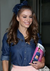 Maria Menounos - Leaving her hotel in NYC 6/3/14