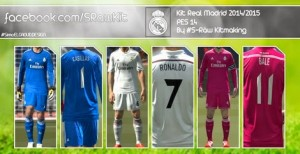 Real Madrid Kits By S-Ràw