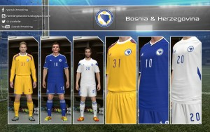 Download Bosnia Herzegovina PES 2014 GDB by Nemanja