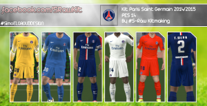 Download PES 2014 PSG Kits 2014-15 By S-Raw