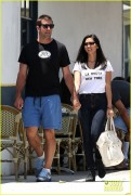 Olivia Munn - Leaving La Conversation with Aaron Rodgers in West Hollywood 6/6/14