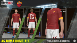 Download AS Roma Home Kit by ABIEL