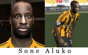Download Sone Aluko [Hull City] Face by ken86