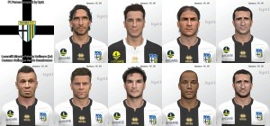 PES 14 FC Parma facepack by kpt1