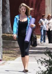 Ali Larter Heading to Yoga Class in LA 6/6/14