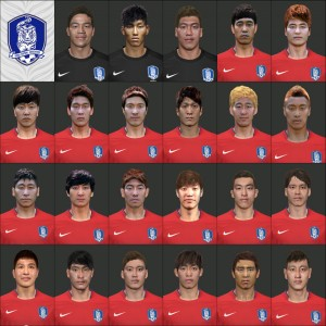 PES 2014 Korea Football national team by So-Yul