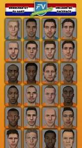 FIFA 14 Holland World Cup Facepack by FV.Bart