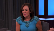 Patricia Heaton-Kimmel 5-22-14 Blue Dress