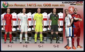 Cech Republic 14/15 puma kits by mikrof28