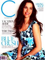 Liv Tyler -  California Style Magazine - Summer 2014