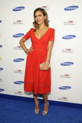 Jessica Alba - Samsung Hope for Children Gala in NYC 6/10/14