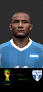 PES 2014 Luis Garrido Face by Footballmania