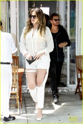 Khloe Kardashian - Leaving Pierre's in Bridgehampton, NY 6/11/14