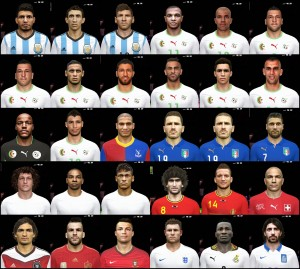 PES 14 World Cup Big Facepack By DzGeNiO