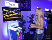 Olivia Holt - Previewing Super Smash Bros. at E3 6/12/14
