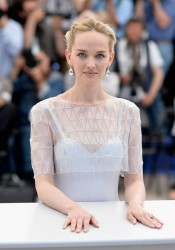 "Jess Weixler attends ""The Disappearance Of Eleanor Rigby"" photocall at the 67th Annual Cannes Film Festival 5/18/14"