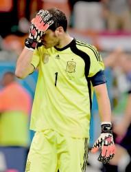 Iker Casillas , su novio E27948332947544