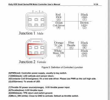 Help with wiring a Kelly Controller KDS48100E ... Kelly Controller Wiring Diagram on