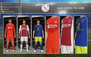 Download PES 2014 Ajax 2014/15 GDB by Nemanja