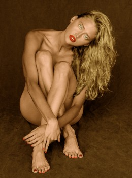 Estella Warren - 1 Picture - Colored by me - Nude but covered!