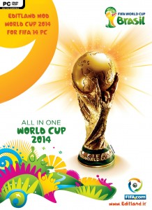 FIFA14 Editland Mod World Cup 2014 by editland