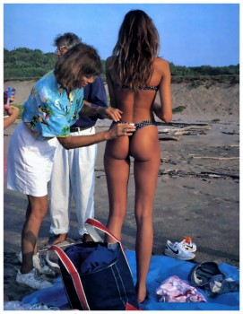 Stephanie Seymour: 1989 SI Shoot: MQ x 1