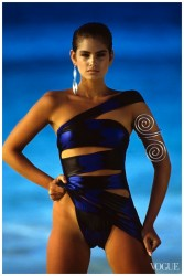 Cindy Crawford: Mouthwatering 80's Swimsuit Pics: HQ x 3