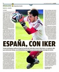 Prensa Deportiva - Iker Casillas 96ed45333453505