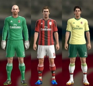 Download AC Milan 14-15 Kits by Ram'z