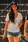 Lana Del Rey - Wearing shorts in NYC 6/18/14