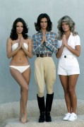 "Farrah Fawcett, Jaclyn Smith & Kate Jackson- ""Charlie's Angels"" 1976 Promo Pics- 100 HQ"
