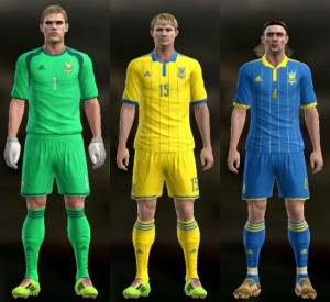 Download PES 2013 Ukraine 2014-15 Kits by Ram'z