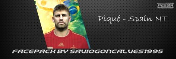 Download Face Gerard Piqué by saviogoncalves1995