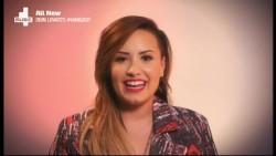Demi Lovato - 4Music Hangout 23rd June 2014 576p