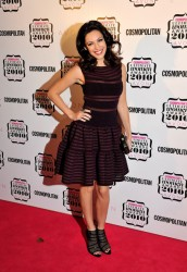 Kelly Brook upskirt at the Cosmopolitan Ultimate Women of the Year Awards 11/2/10