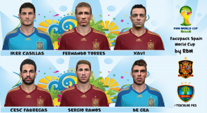 Download Facepack España World Cup by RDM