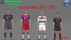 Download Bayern Munich 14-15 Kits by Allan Souza