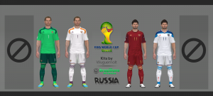 Download Russia World Cup 2014 Kits by Wuguernalt