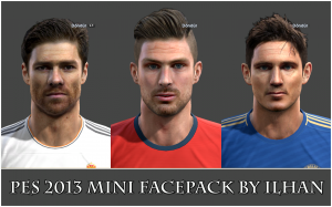 Download PES 2013 Mini Facepack by ilhan