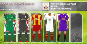 Download PES 2014 Galatasaray 2014-15 Kits By S-Ràw